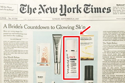 ビタブリッドCフェイスがニューヨークタイムズに掲載.jpg